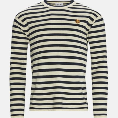 Striped Jumper Regular fit | Striped Jumper | Blå